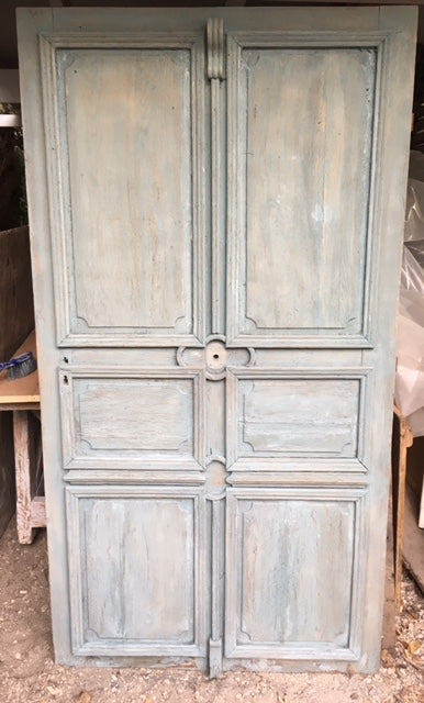 Painted Oak Door