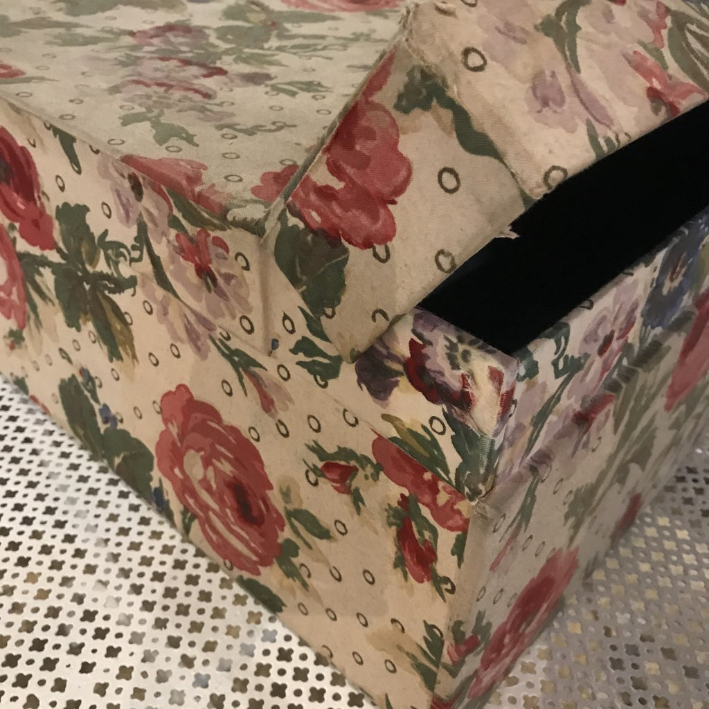 Large Fabric Covered Box