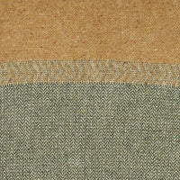 Jules Throw Green herringbone 51.2x86.6""