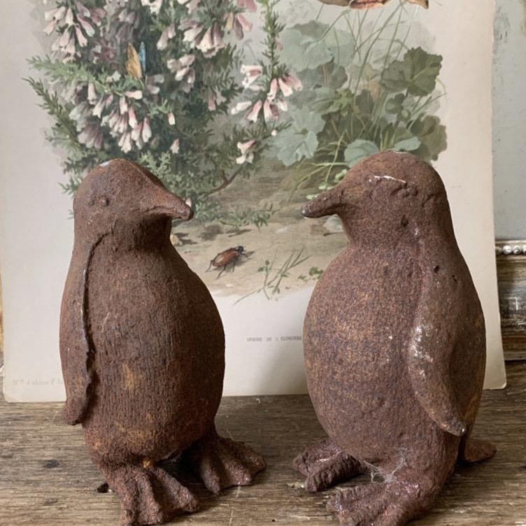 Cast Iron Penguins