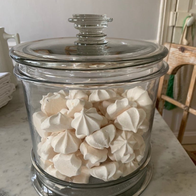 Large Glass Candy Jar with Lid