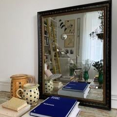 Decorative Toile Mirror