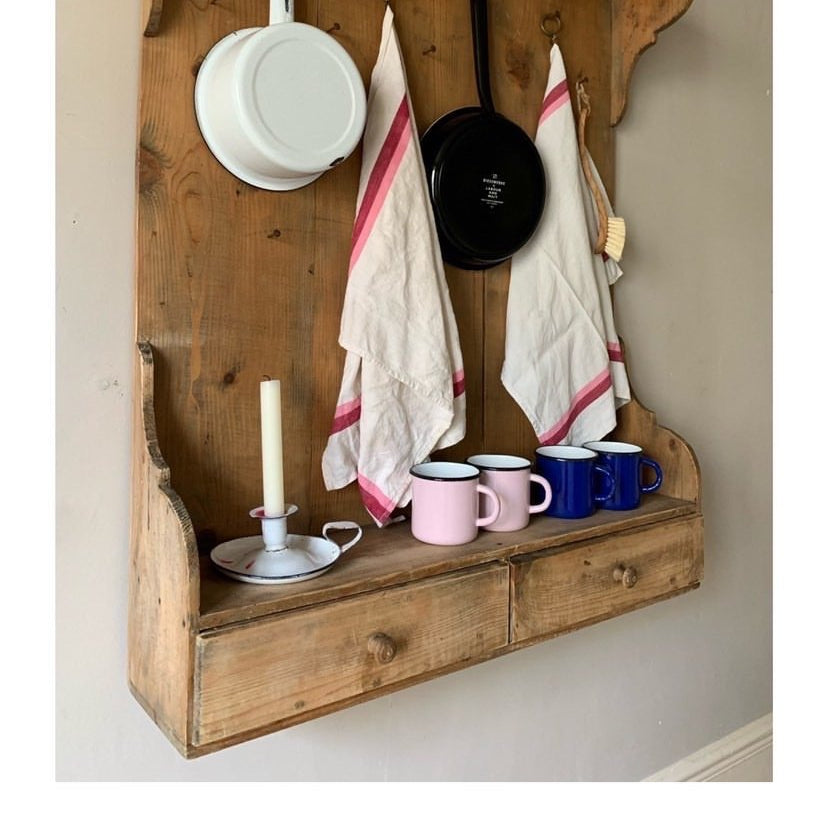 Pine Hanging Shelf