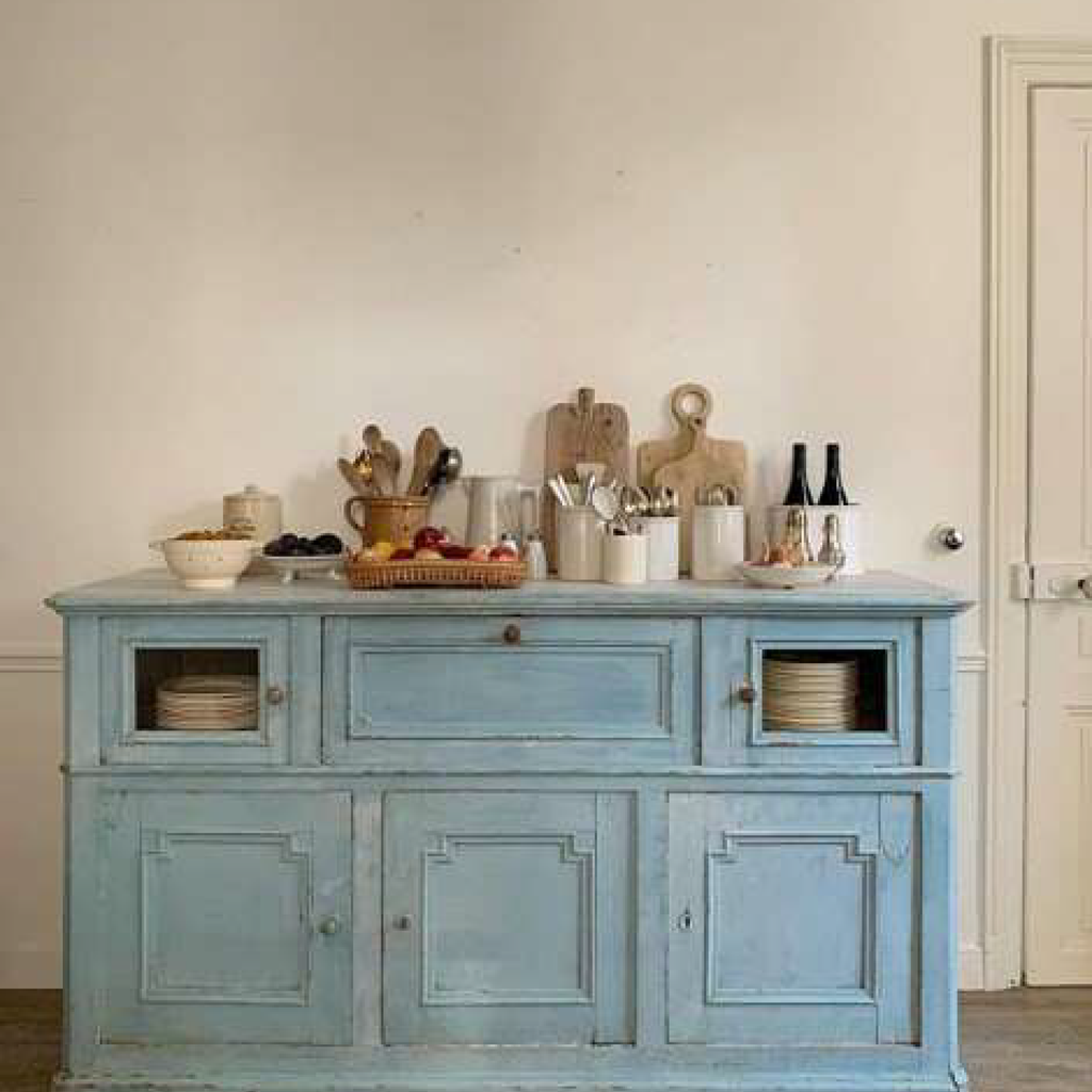 Blue Cupboard Original Patina