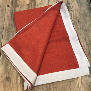 Alpaca Throw Linen Binding (Large)