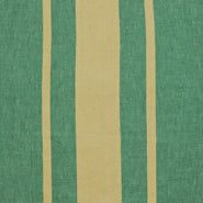 "Waikiki Tea Towel 23.6"" x31.5"" Green Strip"