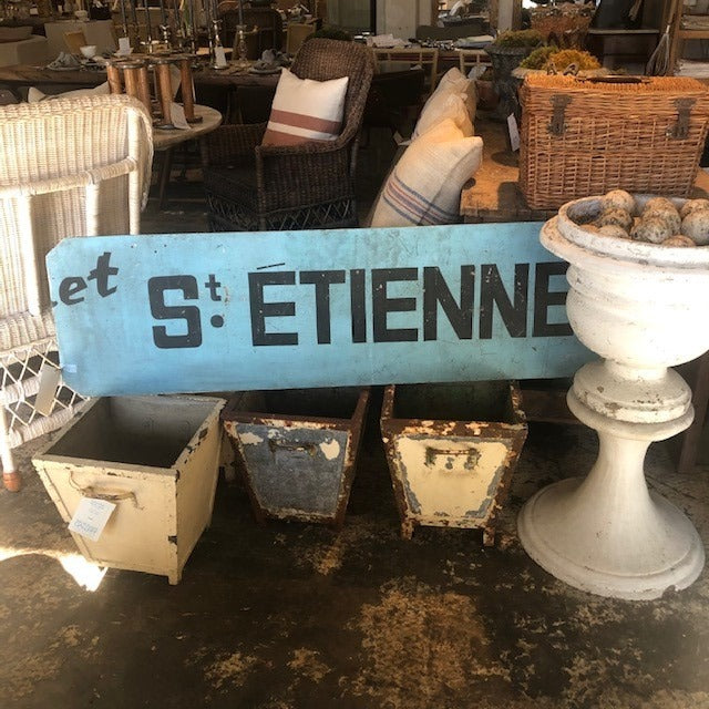 """St Etienne"" Sign"