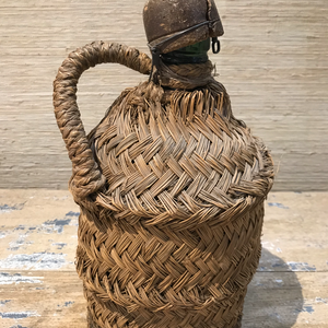 Spanish Wrapped Staw Bottle