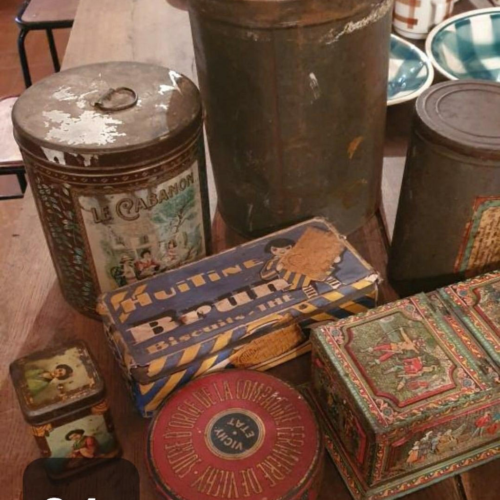 Various Tin Boxes