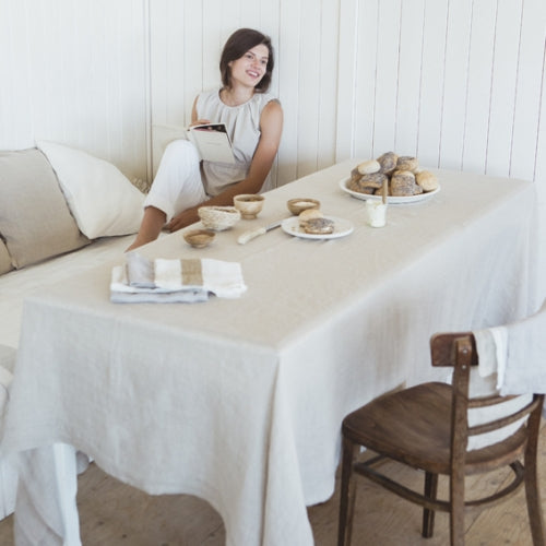 Fjord Tablecloth - White