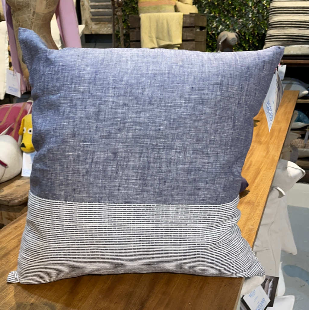 ModernPlum Blues Throw pillow