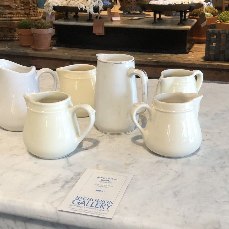 Cream Pitchers