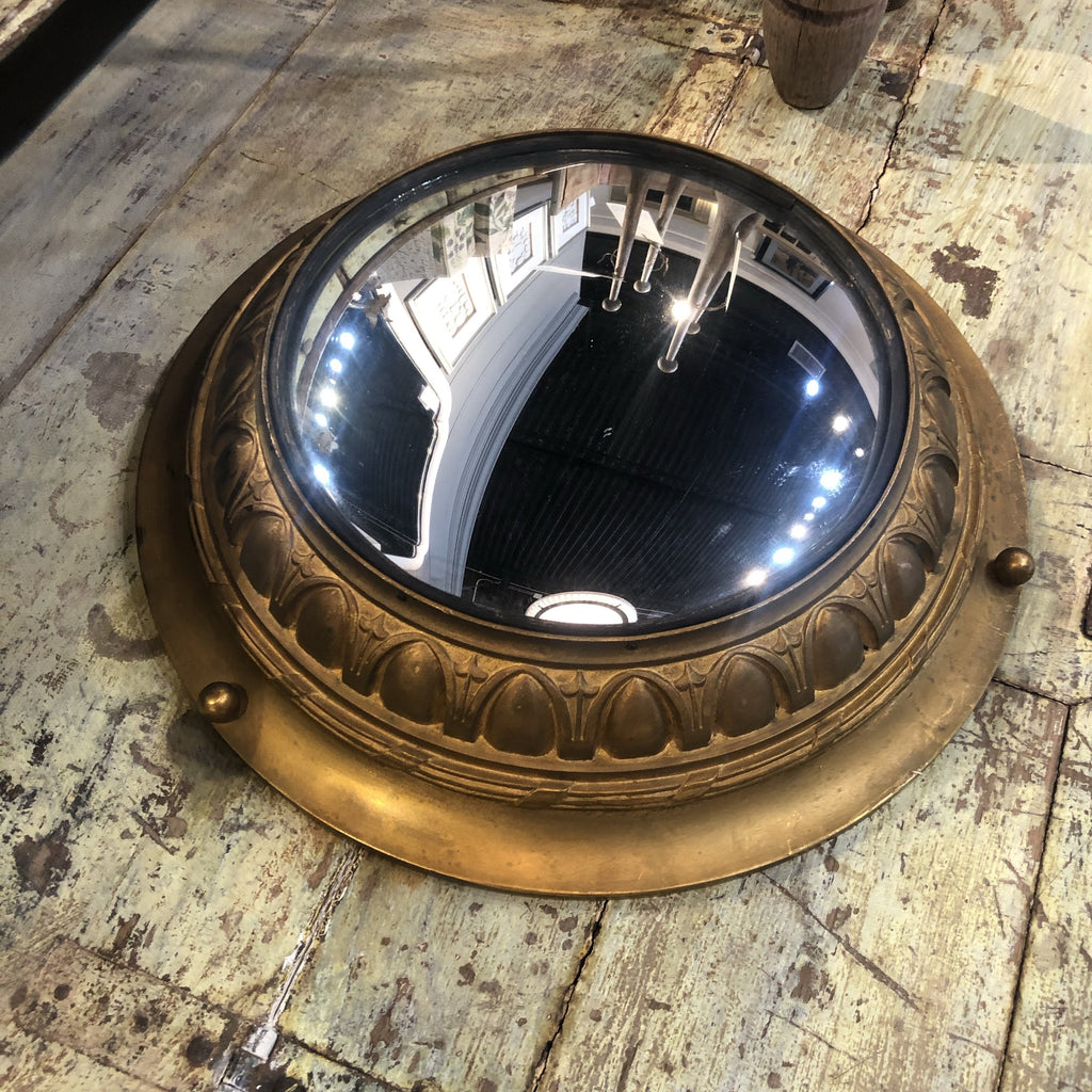 Gilt Bronze Convex Mirror