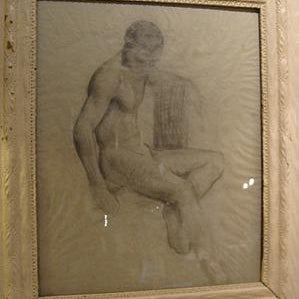 Pencil Male Nude