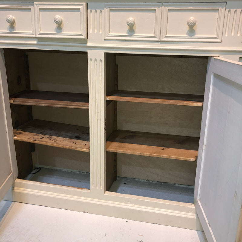Painted Pharmacy Cabinet