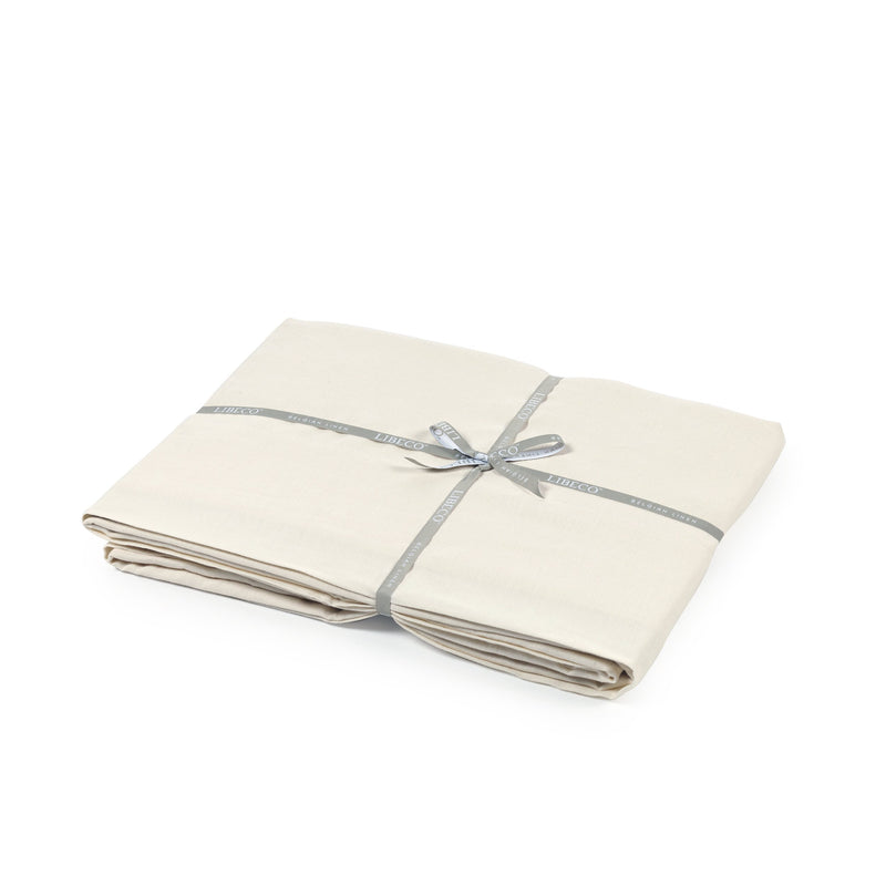 Santiago Fitted Sheet - White Sand