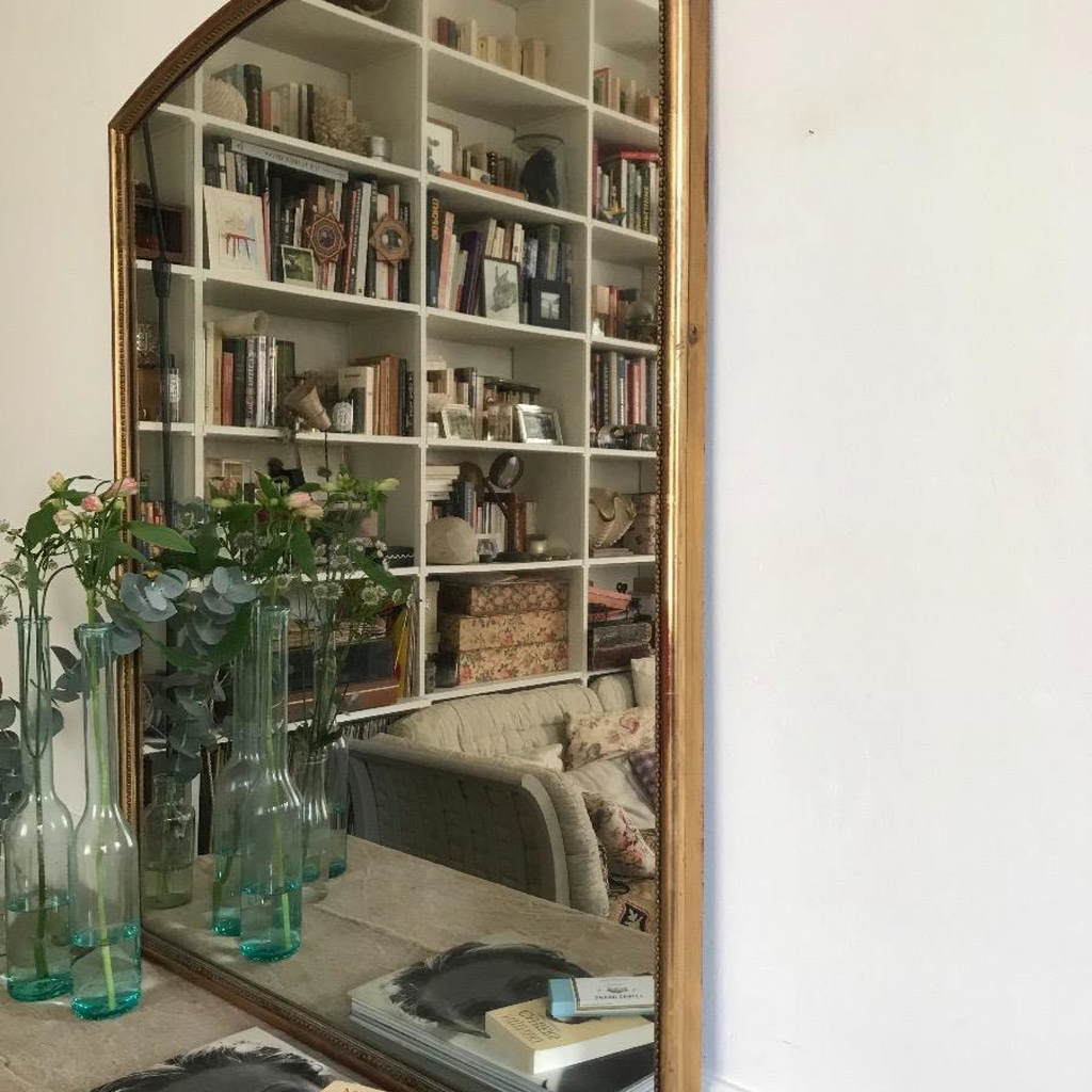 Arched Top Mercury Mirror