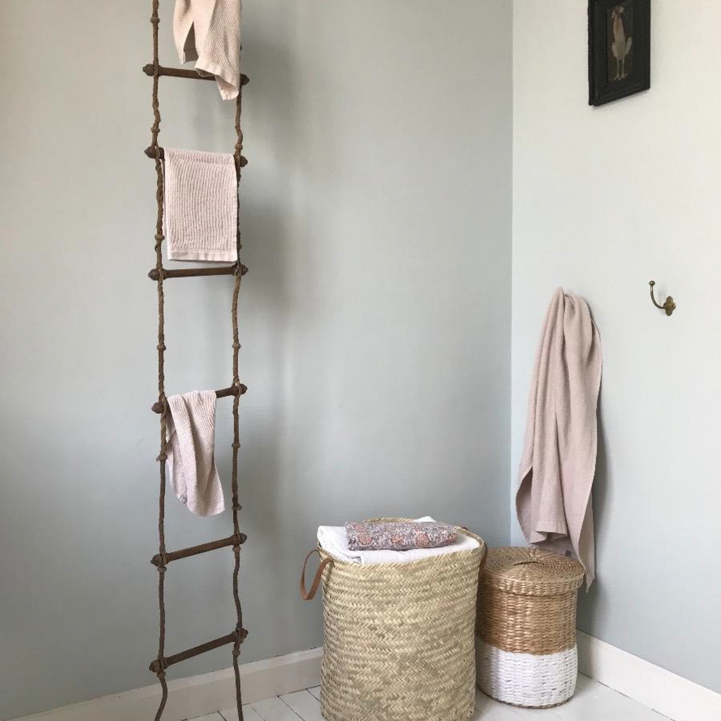 Gymnast's Rope and Wood Ladder