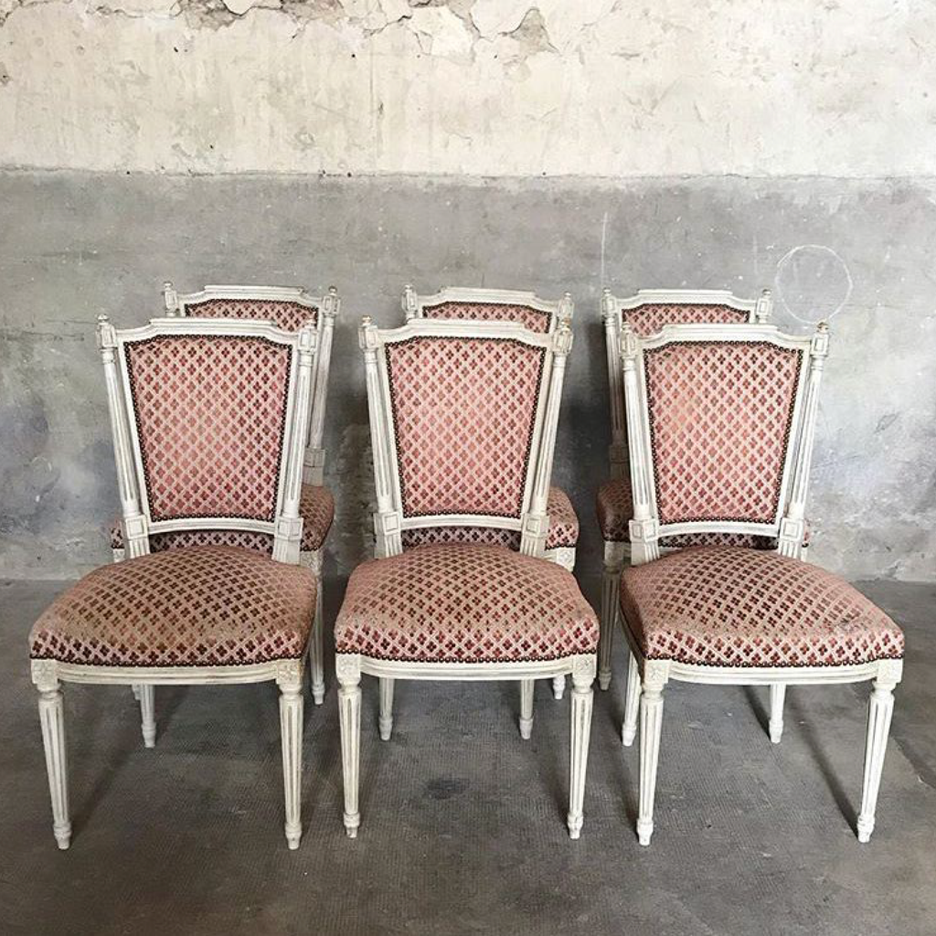 Louis XVI Style Dining Chair