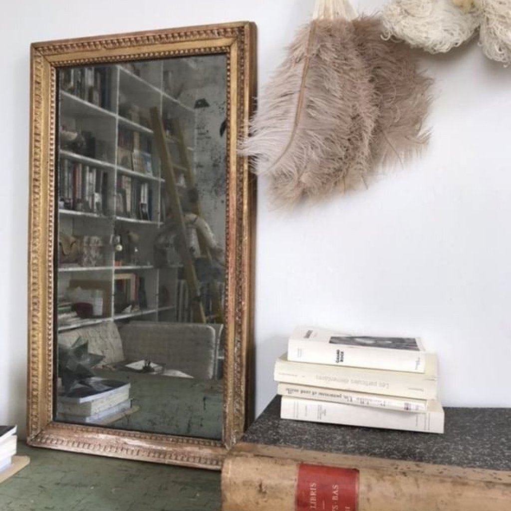 Gilt Mercury Mirror