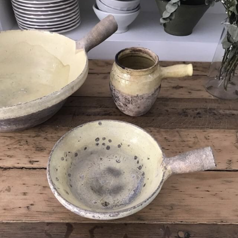 Provencal Pottery with Handles