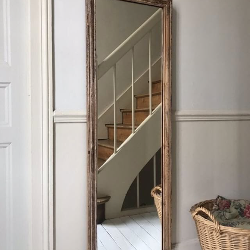 Silvered Mirror with Original Patina