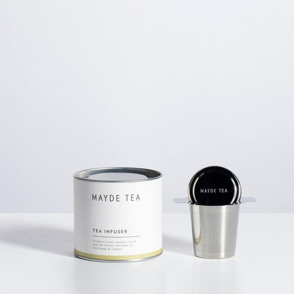 STAINLESS STEEL TEA INFUSER | 不鏽鋼泡茶器 - afterhours. Hong Kong