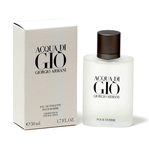 Acqua Di Gio Pour Homme Eau de Toilette Spray, Cologne for Men, 1.7 oz