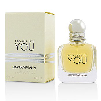 Emporio Armani Because It's You Eau de Parfum Spray, 3.4 oz