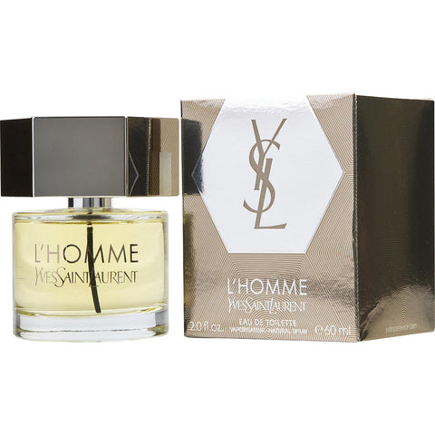 Yves Saint Laurent Men's L'HOMME Eau de Toilette Natural Spray, 2 oz