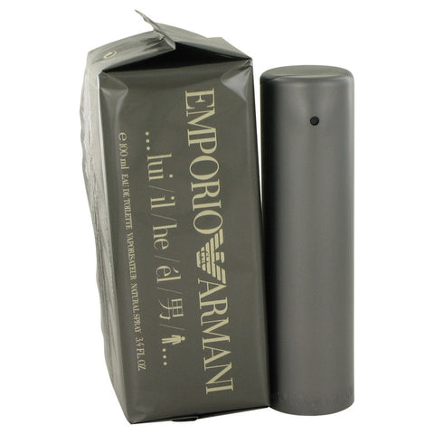 Emporio Armani Eau De Toilette Spray, Cologne for Men, 3.4 oz