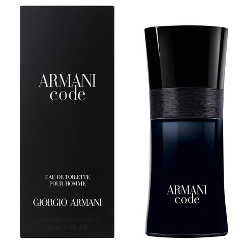 Armani Code Eau De Toilette Spray, Cologne for Men, 1.7 oz