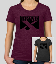 Load image into Gallery viewer, Ladies Brand X Logo Premium T-Shirt