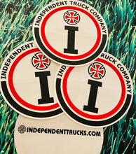"Load image into Gallery viewer, VINTAGE 5"" Independent i Sticker"