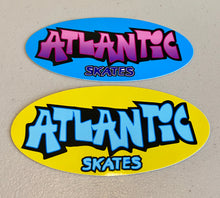 Load image into Gallery viewer, Atlantic Skates Stickers (2-pack)