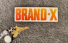 "Load image into Gallery viewer, Brand X BIG 6"" logo Sticker"