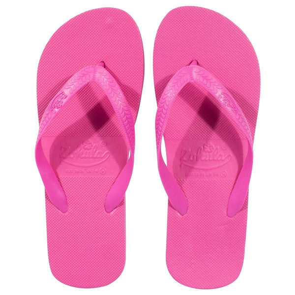 roze teenslippers