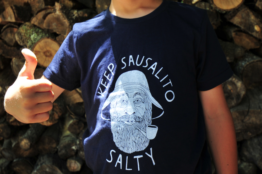 Keep Sausalito Salty T-Shirt / Kids