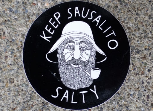 Keep Sausalito Salty Sticker