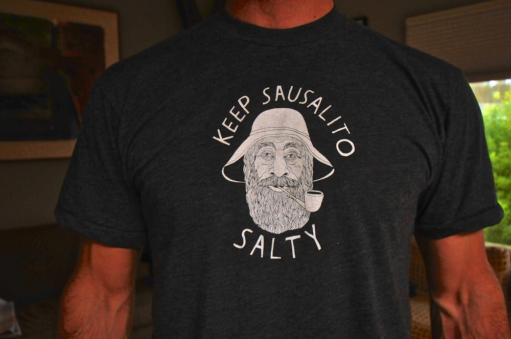 Keep Sausalito Salty T-Shirt/ Mens