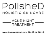 PolisheD Holistic Skincare Acne Treatment Kit