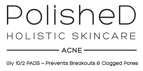 PolisheD  Holistic Skincare Acne Pads