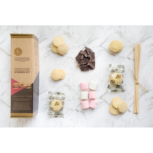 Organic Dark Chocolate Bark S'Mores Kit