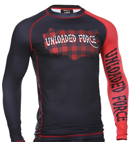Unloaded Force Rash Guard Compression Shirt - unloadedforce.com