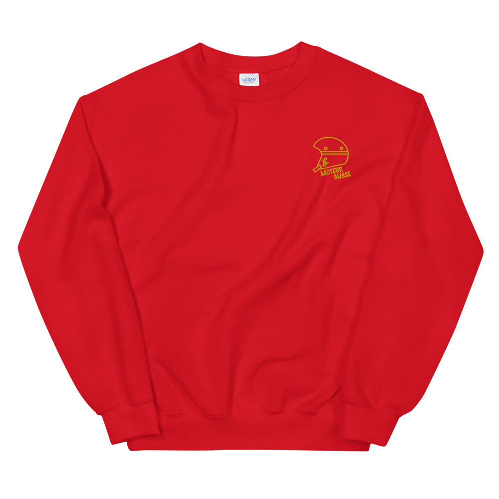 Sweat Rouge Brodé
