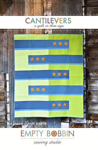 Cantilevers Quilt PDF Pattern