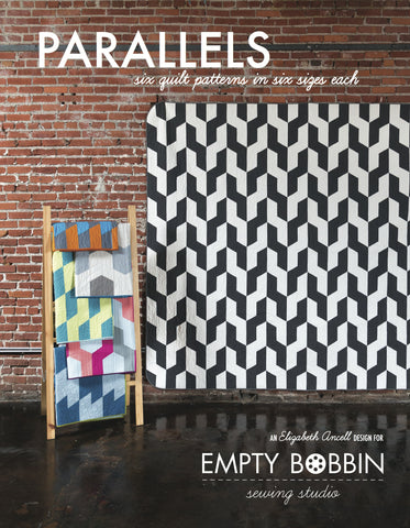 Parallels Quilt Book: Six Quilts in Six Sizes