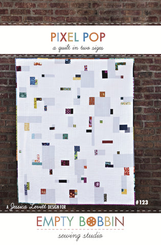 Pixel Pop Quilt PDF Pattern