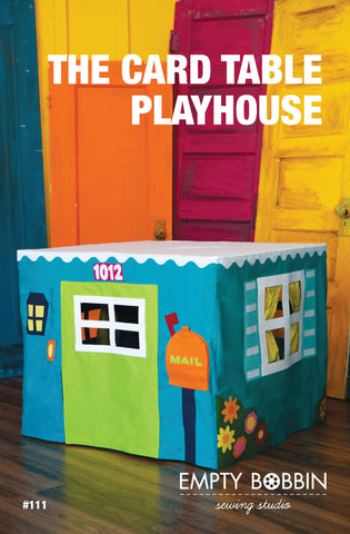 Card Table Playhouse PDF Pattern