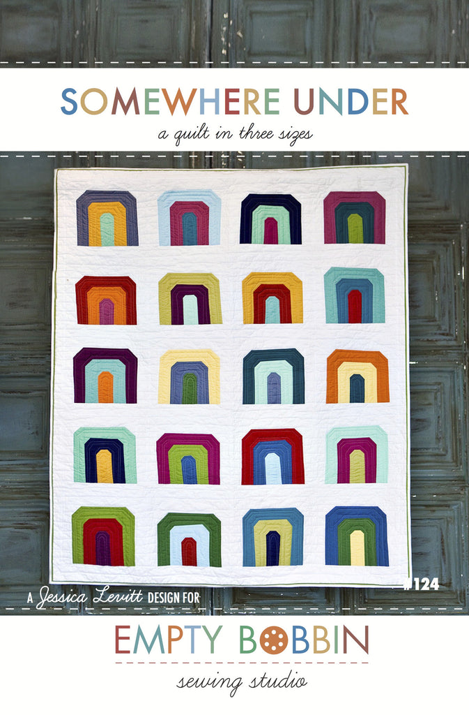 Somewhere Under Quilt PDF Pattern
